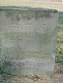 EVANS, INFANT - Scioto County, Ohio | INFANT EVANS - Ohio Gravestone Photos