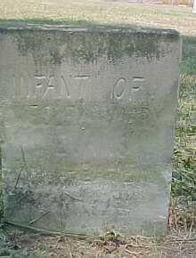 EVANS, INFANT - Scioto County, Ohio | INFANT EVANS - Ohio Gravestone Photos