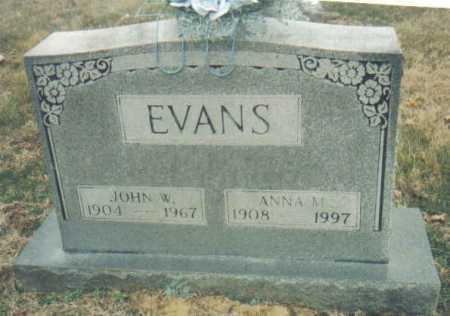 EVANS, ANNA M. - Scioto County, Ohio | ANNA M. EVANS - Ohio Gravestone Photos