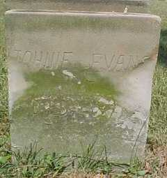 EVANS, JOHNIE - Scioto County, Ohio   JOHNIE EVANS - Ohio Gravestone Photos