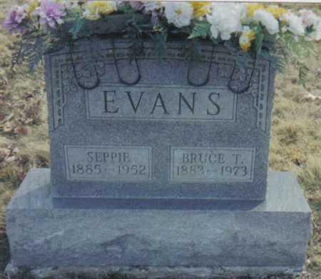 EVANS, BRUCE T. - Scioto County, Ohio   BRUCE T. EVANS - Ohio Gravestone Photos