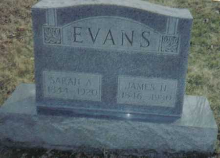 EVANS, JAMES H. - Scioto County, Ohio | JAMES H. EVANS - Ohio Gravestone Photos