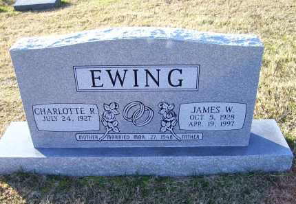 EWING, CHARLOTTE R. - Scioto County, Ohio | CHARLOTTE R. EWING - Ohio Gravestone Photos
