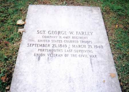 FARLEY, GEORGE W. - Scioto County, Ohio | GEORGE W. FARLEY - Ohio Gravestone Photos