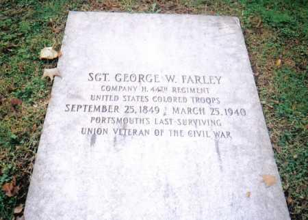 FARLEY, GEORGE W. - Scioto County, Ohio   GEORGE W. FARLEY - Ohio Gravestone Photos