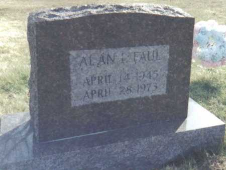 FAUL, ALAN - Scioto County, Ohio | ALAN FAUL - Ohio Gravestone Photos