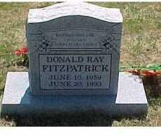 FITZPATRICK, DONALD RAY - Scioto County, Ohio | DONALD RAY FITZPATRICK - Ohio Gravestone Photos