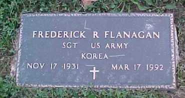 FLANAGAN, FREDERICK R. - Scioto County, Ohio | FREDERICK R. FLANAGAN - Ohio Gravestone Photos