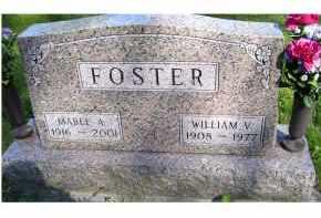 FOSTER, WILLIAM V. - Scioto County, Ohio | WILLIAM V. FOSTER - Ohio Gravestone Photos