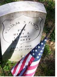 FOSTER, WILLIAM S. - Scioto County, Ohio   WILLIAM S. FOSTER - Ohio Gravestone Photos