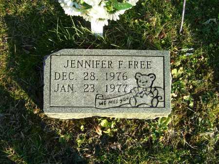 FREE, JENNIFER F. - Scioto County, Ohio | JENNIFER F. FREE - Ohio Gravestone Photos