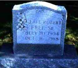 FREE, LAFE ROBERT SR. - Scioto County, Ohio | LAFE ROBERT SR. FREE - Ohio Gravestone Photos