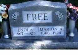 FREE, MARION A. - Scioto County, Ohio | MARION A. FREE - Ohio Gravestone Photos
