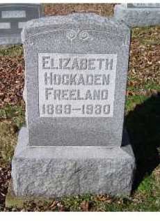 FREELAND, ELIZABETH - Scioto County, Ohio | ELIZABETH FREELAND - Ohio Gravestone Photos