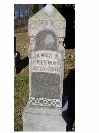 FREEMAN, JAMES G. - Scioto County, Ohio | JAMES G. FREEMAN - Ohio Gravestone Photos