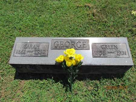 "GEORGE, NATHANIEL ""GREEN"" - Scioto County, Ohio | NATHANIEL ""GREEN"" GEORGE - Ohio Gravestone Photos"
