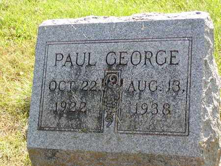 GEORGE, PAUL - Scioto County, Ohio | PAUL GEORGE - Ohio Gravestone Photos
