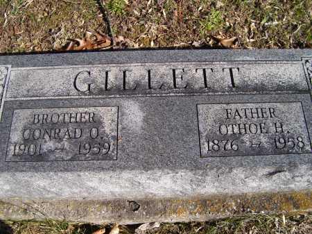 GILLETT, OTHOE H. - Scioto County, Ohio | OTHOE H. GILLETT - Ohio Gravestone Photos