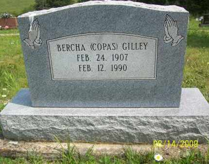 GILLEY, BERCHA - Scioto County, Ohio | BERCHA GILLEY - Ohio Gravestone Photos