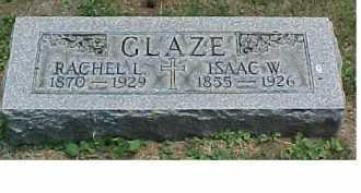 GLAZE, ISAAC W. - Scioto County, Ohio   ISAAC W. GLAZE - Ohio Gravestone Photos