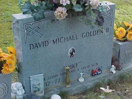 GOLDEN, DAVID MICHAEL II - Scioto County, Ohio | DAVID MICHAEL II GOLDEN - Ohio Gravestone Photos
