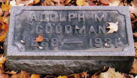 GOODMAN, ADOLPH M. - Scioto County, Ohio | ADOLPH M. GOODMAN - Ohio Gravestone Photos