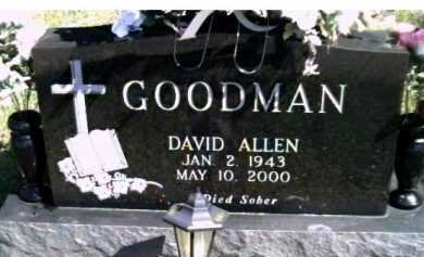 GOODMAN, DAVID ALLEN - Scioto County, Ohio | DAVID ALLEN GOODMAN - Ohio Gravestone Photos