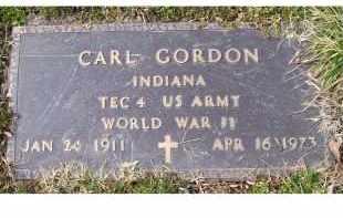 GORDON, CARL - Scioto County, Ohio   CARL GORDON - Ohio Gravestone Photos