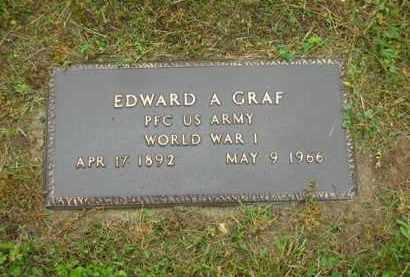 GRAF, EDWARD A. - Scioto County, Ohio | EDWARD A. GRAF - Ohio Gravestone Photos