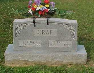 GRAF, BERTHA J. - Scioto County, Ohio | BERTHA J. GRAF - Ohio Gravestone Photos