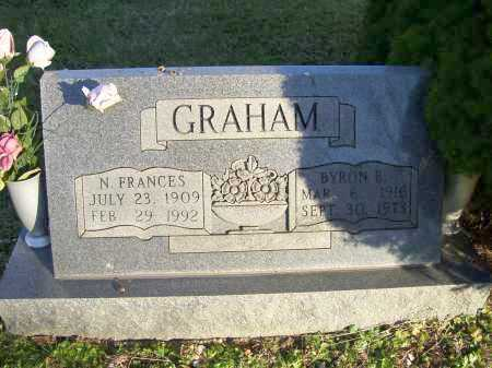 GRAHAM, N. FRANCES - Scioto County, Ohio | N. FRANCES GRAHAM - Ohio Gravestone Photos