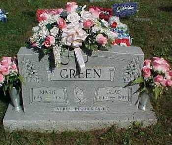GREEN, MARIE - Scioto County, Ohio | MARIE GREEN - Ohio Gravestone Photos