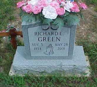 GREEN, RICHARD L. - Scioto County, Ohio | RICHARD L. GREEN - Ohio Gravestone Photos