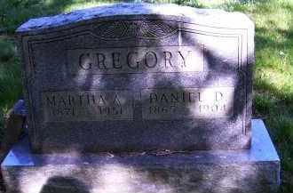 GREGORY, MARTHA A. - Scioto County, Ohio | MARTHA A. GREGORY - Ohio Gravestone Photos