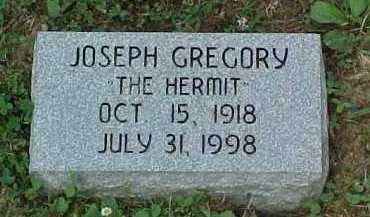 GREGORY, JOSEPH - Scioto County, Ohio | JOSEPH GREGORY - Ohio Gravestone Photos