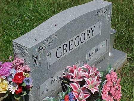 GREGORY, KATHERINE - Scioto County, Ohio | KATHERINE GREGORY - Ohio Gravestone Photos