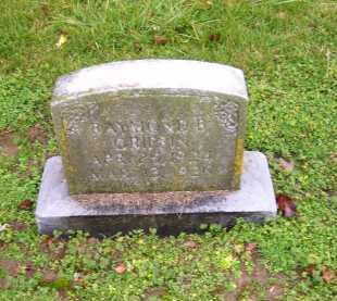 GRIFFIN, RAYMOND B. - Scioto County, Ohio | RAYMOND B. GRIFFIN - Ohio Gravestone Photos