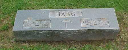 HAAG, RICHARD A. - Scioto County, Ohio | RICHARD A. HAAG - Ohio Gravestone Photos