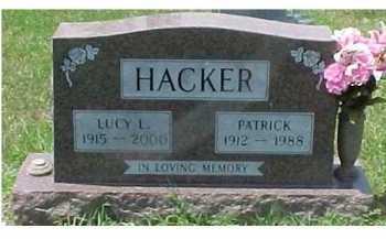 HACKER, LUCY L. - Scioto County, Ohio   LUCY L. HACKER - Ohio Gravestone Photos