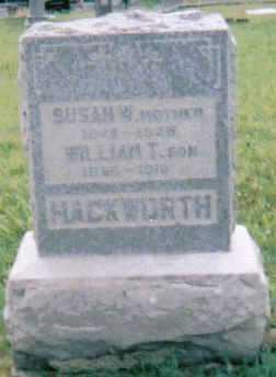 CAREY HACKWORTH, SUSAN - Scioto County, Ohio | SUSAN CAREY HACKWORTH - Ohio Gravestone Photos