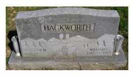 HACKWORTH, WILLIAM C. - Scioto County, Ohio | WILLIAM C. HACKWORTH - Ohio Gravestone Photos