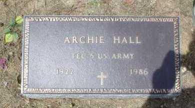 HALL, ARCHIE - Scioto County, Ohio   ARCHIE HALL - Ohio Gravestone Photos