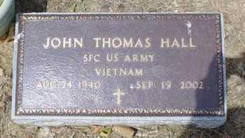 HALL, JOHN THOMAS - Scioto County, Ohio | JOHN THOMAS HALL - Ohio Gravestone Photos