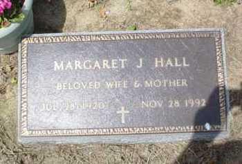 HALL, MARGARET J. - Scioto County, Ohio   MARGARET J. HALL - Ohio Gravestone Photos