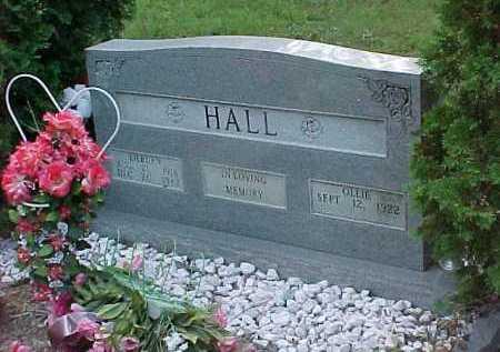 HALL, OLLIE - Scioto County, Ohio | OLLIE HALL - Ohio Gravestone Photos