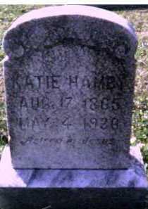 HAMBY, KATIE - Scioto County, Ohio | KATIE HAMBY - Ohio Gravestone Photos