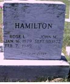 HAMILTON, ROSE L. - Scioto County, Ohio   ROSE L. HAMILTON - Ohio Gravestone Photos