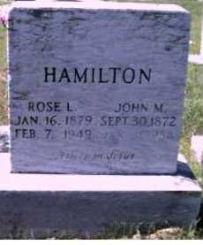 HAMILTON, JOHN M. - Scioto County, Ohio | JOHN M. HAMILTON - Ohio Gravestone Photos
