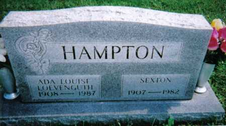 HAMPTON, ADA LOUISE - Scioto County, Ohio | ADA LOUISE HAMPTON - Ohio Gravestone Photos