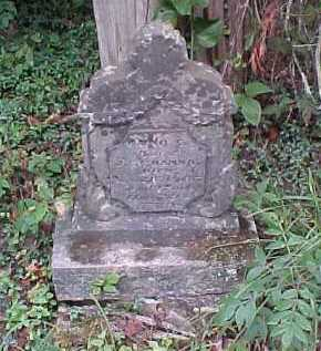 HANNA, ANNA - Scioto County, Ohio   ANNA HANNA - Ohio Gravestone Photos